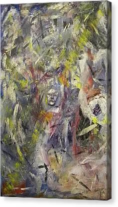 Meditation Canvas Print by Carmen Kolcsar