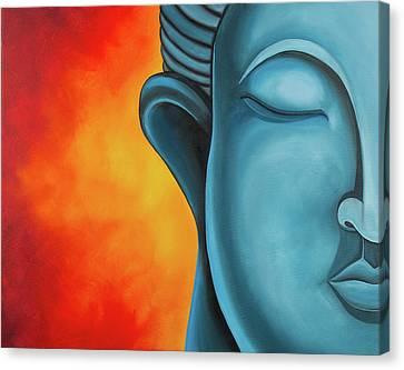 Meditation Canvas Print by Lael Borduin