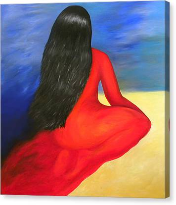 Meditation Moment Canvas Print