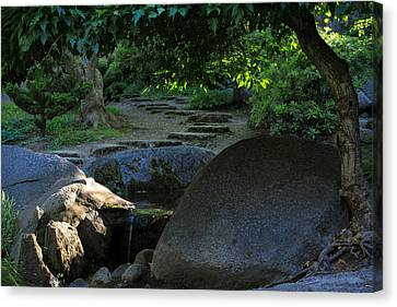 Meditation Path Canvas Print