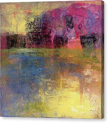 Meditation Place Canvas Print by Melody Cleary
