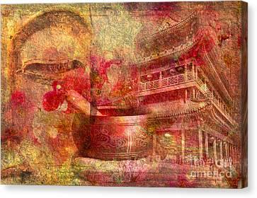 Meditative Montage 2015 Canvas Print