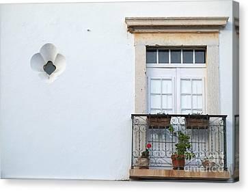 Mediterranean Balcony Canvas Print