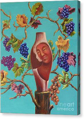 Meditrina Canvas Print by Ushangi Kumelashvili