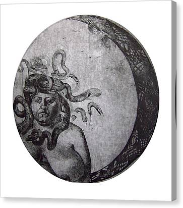 Medusa Canvas Print by Adina Iancu