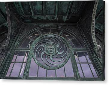 Medusa Window Carousel House Asbury Park Nj Canvas Print