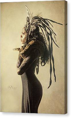 Medusa's Brood V Canvas Print