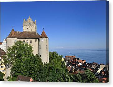 Meersburg Castle - Lake Constance Or Bodensee - Germany Canvas Print by Matthias Hauser