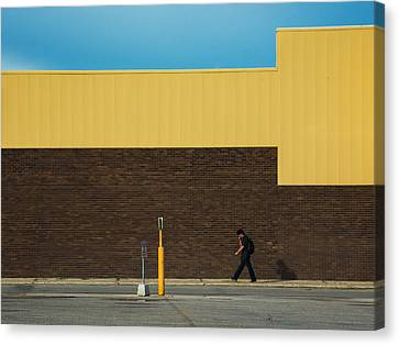 Meet Me At The Mall Canvas Print by Bryan Scott