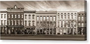 Canvas Print featuring the photograph Meeting Street - Charleston, South Carolina by Carl Amoth