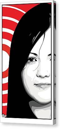 Meg White Of The White Stripes Canvas Print