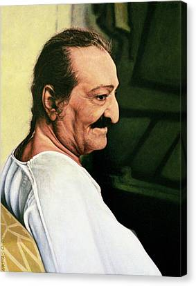 Meher Baba 3 Canvas Print by Nad Wolinska