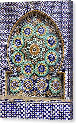 Canvas Print featuring the photograph Meknes by Ramona Johnston