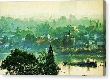 Mekong Morning Canvas Print