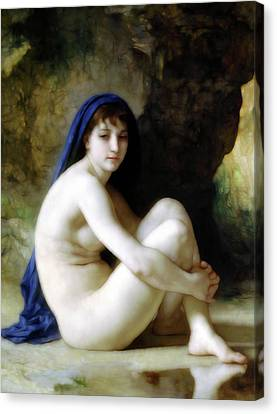 Melancholy Nude  Canvas Print