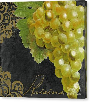 Melange Green Grapes Canvas Print by Mindy Sommers