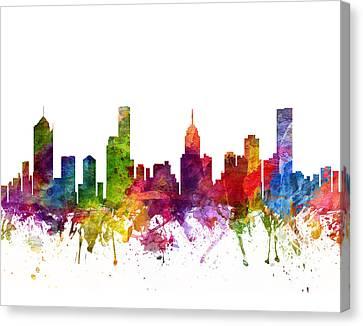 Melbourne Australia Cityscape 06 Canvas Print
