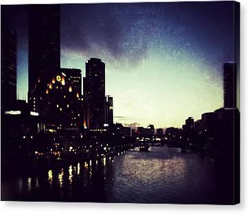 Melbourne Australia Canvas Print by Sarah Coppola