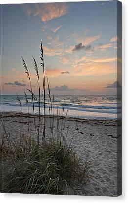 Melbourne Beach Sunrise Canvas Print