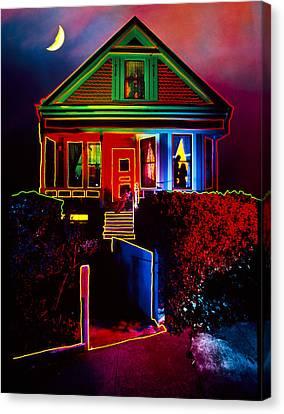 Melinda's House Canvas Print