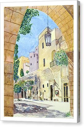 Mellieha Malta Canvas Print