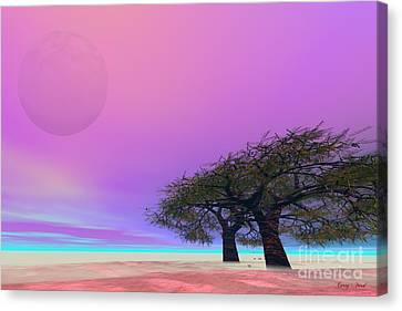 Mellow Canvas Print by Corey Ford