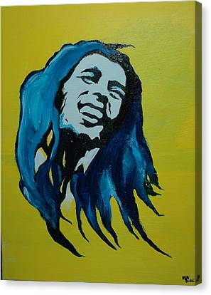 Mellow Marley Canvas Print by Matt Burke