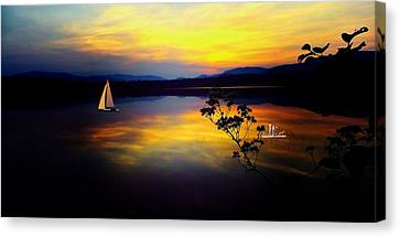 Mellow Moments In New England Canvas Print