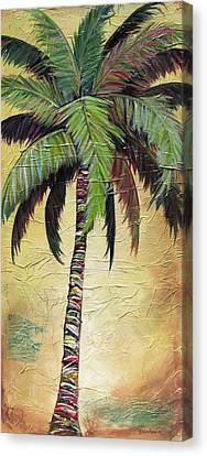 Mellow Palm I Canvas Print by Kristen Abrahamson
