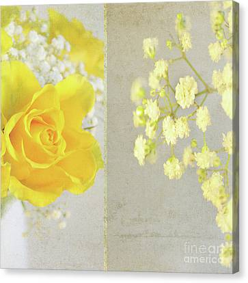 Canvas Print featuring the photograph Mellow Yellow by Lyn Randle