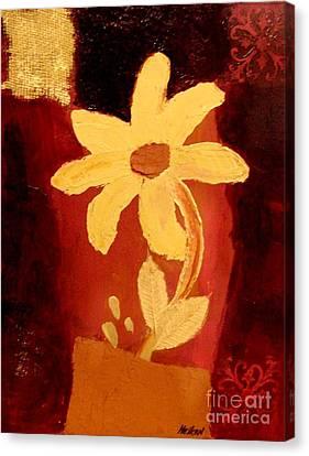 Mellow Yellow Canvas Print by Marsha Heiken