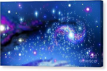 Melonyrenas Starry Night Canvas Print by Bob Schmidt