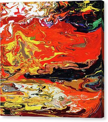 Melt Canvas Print by Ralph White