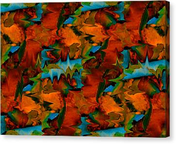 Meltdown Canvas Print by Stephen Anderson