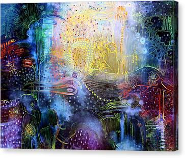 Melted Dream Canvas Print by Lolita Bronzini