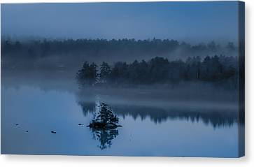 Melvin Bay Blues Canvas Print