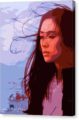 Memoirs Of A Geisha Canvas Print by David Lloyd Glover
