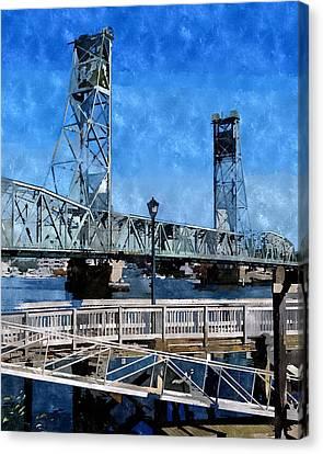 Memorial Bridge Mbwc Canvas Print