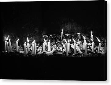 Memorial Candles II Canvas Print