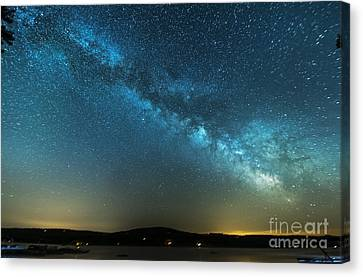 Memorial Day Milky Way Canvas Print