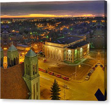 Memorial Hall Canvas Print