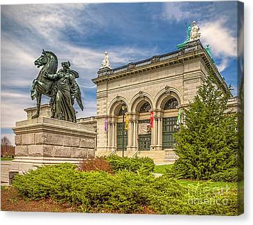 Canvas Print featuring the photograph Memorial Hall - Fairmount Park by Nick Zelinsky