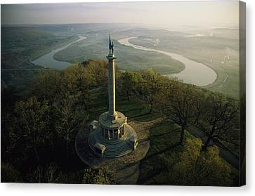 River Scenes Canvas Print - Memorial To The Battle Of Chattanooga by Sam Abell