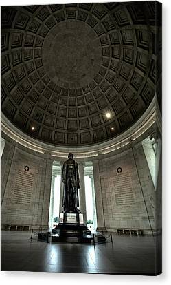 Memorial To Thomas Jefferson Canvas Print by Andrew Soundarajan