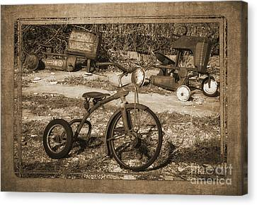 Memories Of Childhood Canvas Print