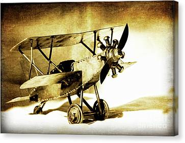 Memories Of Flying Canvas Print by Lincoln Rogers