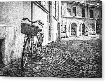 Memories Of Italy Sketch Canvas Print by Edward Fielding