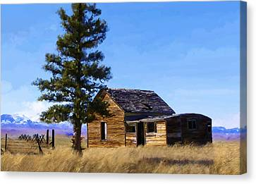 Memories Of Montana Canvas Print