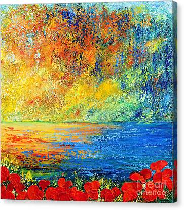 Memories Of Summer Canvas Print by Teresa Wegrzyn