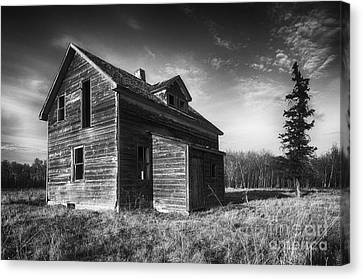 Memories Of The Past 1 Canvas Print by Bob Christopher